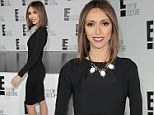 Has Giuliana Rancic lost even more weight? TV hosts displays shockingly thin frame at E! Upfronts