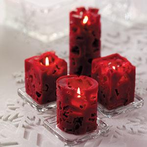 Как сделать ажурную свечу