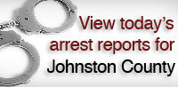 View Johnston County Arrests