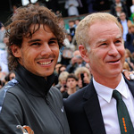 Nadal and McEnroe, two great champions