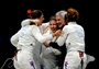 USA wins bronze in women's Epee Team Fencing