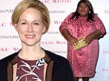 Friends off-screen too! The Big C's Laura Linney and Gabourey Sidibe are fierce in fuschia as they step out for charity event