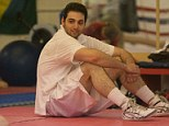 Tamerlan Tsarnaev practices boxing at the Wai Kru Mixed Martial Arts center in April 2009 in Boston, Massachusetts