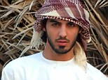 Criminal looks: The internet is awash with speculation that this is the man who was kicked out of Saudi Arabia for being too handsome