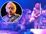 Legendary rocker down: Grateful Dead founder Bob Weir collapses onstage during show in New Jersey