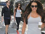 No pain, no gain! Bride-to-be Tamara Ecclestone keeps up her pre-wedding workout on New York trip
