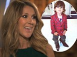 'He looks better in heels than me!' Celine Dion shares picture of two-year-old son Nelson in a pair of her shoes