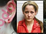 Jenelle Evans reveals photo of her bloody ear as she claims husband Courtland Rogers attacked her before her arrest