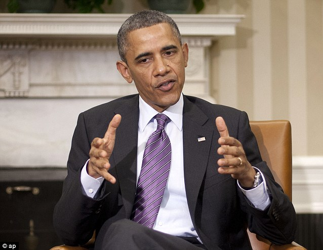 President Obama: 'To use potential weapons of mass destruction of civilian populations crosses another line'
