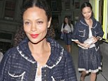 Thandie Newton at Louis Vuitton Vogue Festival party