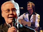 Country star George Jones dies aged 81 after being hospitalised for fever and irregular blood pressure