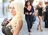 Stop us if you've heard this one before: Courtney Stodden, her mother and a plastic surgeon grab lunch in Beverly Hills...
