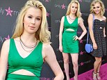 Lovely Material Girls! Ireland Baldwin and AnnaSophia Robb wear tummy slit dresses at Madonna fashion event