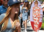 Back to being a (very pretty) teenage slouch! After her knock-out premiere dress... Bella Thorne goes casual in L.A.