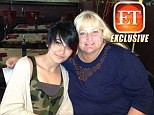Together at last! FIRST picture of Paris Jackson reunited with her mother Debbie Rowe on her 15th birthday