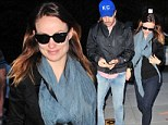 Olivia Wilde and fiance Jason Sudeikis enjoy a romantic couples night out.... as they gear up for a weekend hobnobbing with politicians in Washington, D.C.