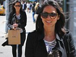 Munn-day Friday: Olivia Munn's all smiles after lunch and shopping with friends in NYC