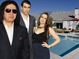 It's just too small! Gene Simmons backs out of buying his children $2m LA home... because it's not big enough for their dogs