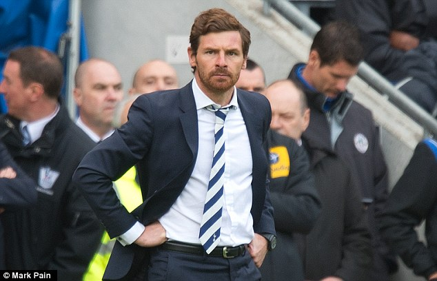 Warchest: Spurs manager Andre Villas-Boas will be tasked with rebuilding his side