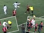 Linesman attacks referee in Russian match