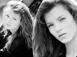 Kate Moss's first ever photo shoot