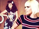 From sixties mod to thirties siren! AnnaLynne McCord channels vintage glamour in wigs and dresses for 'through the decades' photoshoot