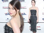 Queen of the carpet! Game of Thrones star Emilia Clarke shines at Robert De Niro event