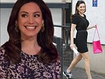 'He just wants the attention!': Kelly Brook insists boyfriend Danny Cipriani is 'fine' as she returns to work after playing nurse