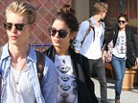 No Sunday Funday for you! Vanessa Hudgens and boyfriend Austin Butler decided that Saturday night in Vegas was enough