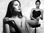 Good golly Miss Jolie! Stunning shots of Angelina as a 16-year-old underwear model show the raw energy of a star