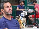 Catching up with the ex: Marc Jacobs has friendly brunch with ex-fiancé Lorenzo Martone alongside their dogs