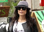 Divorce final: Bethenny Frankel, pictured in New York on Monday is said to have 'settled up' on her divorce from Jason Hoppy