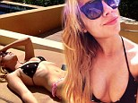 Spring break forever, bitches! Ashley Benson models for Instagram in a miss-matched bikini while in Mexico