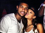 New found love? Photographs of a flirtatious Rihanna and a man called Justin Laboy appeared on Twitter late on Sunday as she continues her Diamonds World Tour