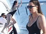 Khloe Kardashian spotted on vacation in Greece