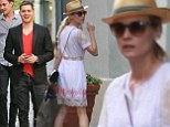 It's such a small world in Hollywood! Diane Kruger narrowly misses bumping into Michael Bublé at The Grove
