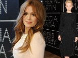 Roaring Twenties... and Thirties! Isla Fisher, 37, upstages leading lady Carey Mulligan, 27, at the premiere of The Great Gatsby