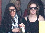 Rumer Willis and mother Demi Moore pictured together for the first time in months following 'fall out' over 50-year-old star's partying