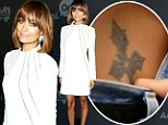 Retro chic: Nicole Richie arrived at the AOL 2013 Digital Contest NewFront on Tuesday in New York dressed in a smart 1960s style mini dress