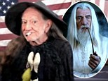 Birthday boy: Willie Nelson, shown at a concert in Tennessee earlier this month, celebrated turning 80 on Monday with a fake audition reel for the role of Gandalf in the next Hobbit movie
