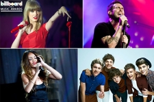 Taylor Swift, fun., Maroon 5 Lead 2013 Billboard Music Awards Finalists