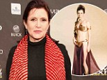 Will she don THAT bikini? Carrie Fisher, 56, says she needs to get 'in really good shape' as she reprises role of Princess Leia in new Star Wars film