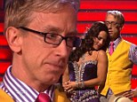 Tears of a clown! Fan favourite Andy Dick chokes back sobs following devastating elimination on Dancing With The Stars