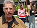 Pretty Fly for an old guy! Jeff Goldblum, 60, treats his flexible gymnast girlfriend to coffee in Los Angeles