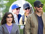 Tuesdays with Mr. Popular: Jake Gyllenhaal hangs with Marcus Mumford, America Ferrara and Jonah Hill in NYC