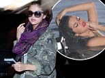 Selena gets shy at LAX airport