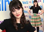 Zooey Deschanel appears at The New Girl screening in Los Angeles on Tuesday