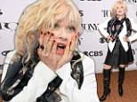 Those are some 'Kinky Boots'! Cyndi Lauper dons leather thigh-high heels as her musical leads with 13 Tony Award nominations
