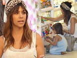 Is Kourtney the most stylish Kardashian? Little Mason and his mama look a bit special for Santorini shopping trip