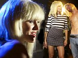 Malin Akerman as Blondie in CBGB film